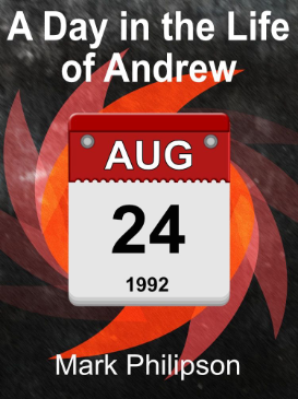 Cover art for A Day in the Life of Andrew showing a date on a calendar.